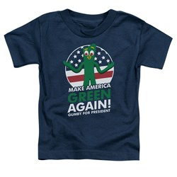 Gumby - Toddlers For President T-Shirt