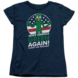 Gumby - Womens For President T-Shirt