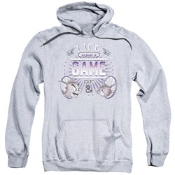 Tom And Jerry - Mens Life Is A Game Pullover Hoodie
