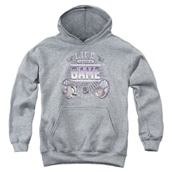 Tom And Jerry - Youth Life Is A Game Pullover Hoodie
