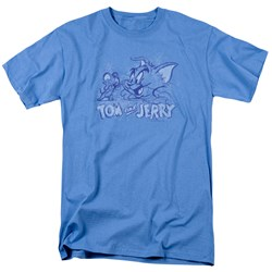 Tom And Jerry - Mens Sketchy T-Shirt