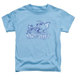 Tom And Jerry - Toddlers Sketchy T-Shirt