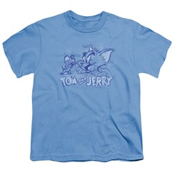 Tom And Jerry - Youth Sketchy T-Shirt