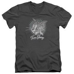 Tom And Jerry - Mens Classic Pals V-Neck T-Shirt