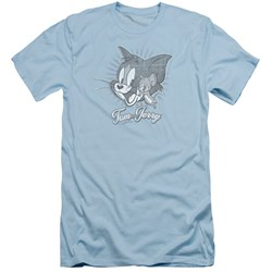 Tom And Jerry - Mens Classic Pals Slim Fit T-Shirt