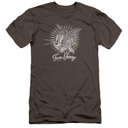 Tom And Jerry - Mens Classic Pals Premium Slim Fit T-Shirt