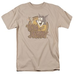 Tom And Jerry - Mens Water Damaged T-Shirt