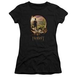 The Hobbit - Juniors Hobbit In Door Premium Bella T-Shirt