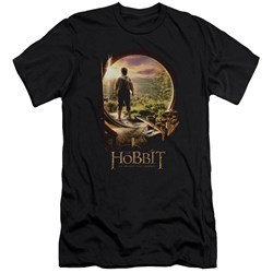 The Hobbit - Mens Hobbit In Door Premium Slim Fit T-Shirt