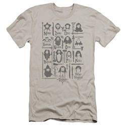 The Hobbit - Mens The Company Premium Slim Fit T-Shirt