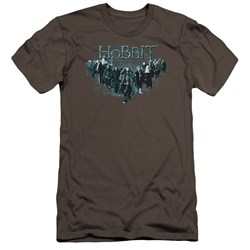 The Hobbit - Mens Thorin And Company Premium Slim Fit T-Shirt