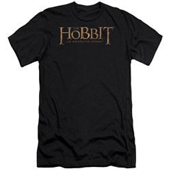 The Hobbit - Mens Logo Premium Slim Fit T-Shirt