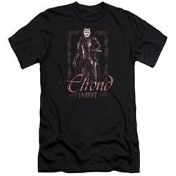 The Hobbit - Mens Elrond Stare Premium Slim Fit T-Shirt