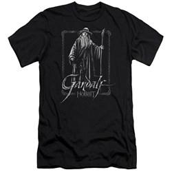 The Hobbit - Mens Gandalf Stare Premium Slim Fit T-Shirt