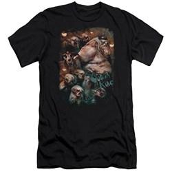 The Hobbit - Mens Goblin King Premium Slim Fit T-Shirt