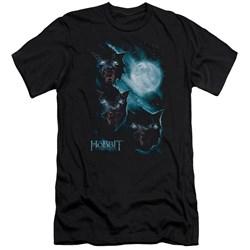 The Hobbit - Mens Three Warg Moon Premium Slim Fit T-Shirt