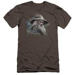 The Hobbit - Mens Gandalf The Grey Premium Slim Fit T-Shirt
