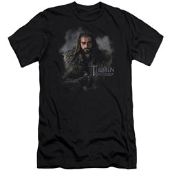The Hobbit - Mens Thorin Oakenshield Premium Slim Fit T-Shirt