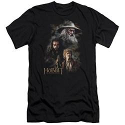 The Hobbit - Mens Painting Premium Slim Fit T-Shirt