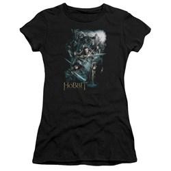 The Hobbit - Juniors Epic Adventure Premium Bella T-Shirt