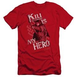 The Hobbit - Mens Kili Is My Hero Premium Slim Fit T-Shirt