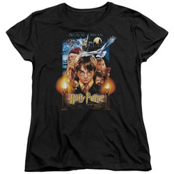 Harry Potter - Womens Movie Poster T-Shirt