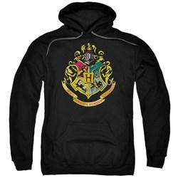 Harry Potter - Mens Hogwarts Crest Pullover Hoodie