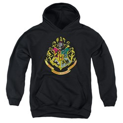 Harry Potter - Youth Hogwarts Crest Pullover Hoodie