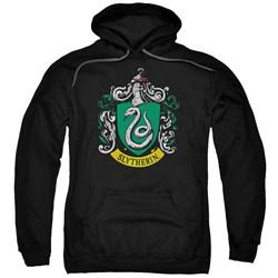 Harry Potter - Mens Slytherin Crest Pullover Hoodie