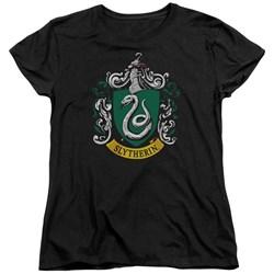 Harry Potter - Womens Slytherin Crest T-Shirt