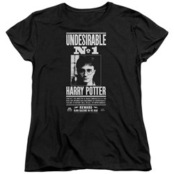 Harry Potter - Womens Undesirable No 1 T-Shirt