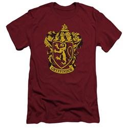 Harry Potter - Mens Gryffindor Crest Slim Fit T-Shirt