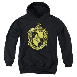 Harry Potter - Youth Hufflepuff Crest Pullover Hoodie