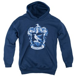 Harry Potter - Youth Ravenclaw Crest Pullover Hoodie