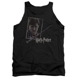Harry Potter - Mens Harrys Wand Portrait Tank Top