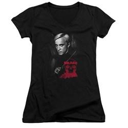 Harry Potter - Juniors Draco Portrait V-Neck T-Shirt
