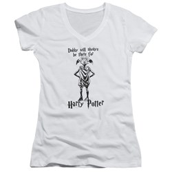 Harry Potter - Juniors Always Be There V-Neck T-Shirt