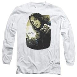 Harry Potter - Mens Snape Poster Long Sleeve T-Shirt