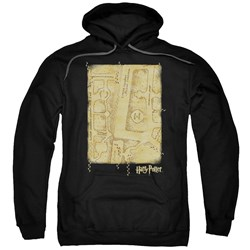 Harry Potter - Mens Marauders Map Interior Pullover Hoodie