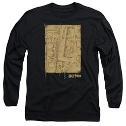 Harry Potter - Mens Marauders Map Interior Long Sleeve T-Shirt