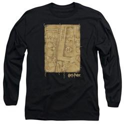 Harry Potter - Mens Marauders Map Interior Long Sleeve T-Shirt