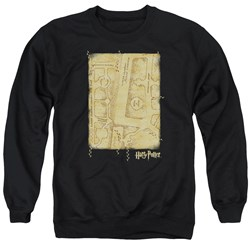 Harry Potter - Mens Marauders Map Interior Sweater