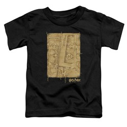 Harry Potter - Toddlers Marauders Map Interior T-Shirt