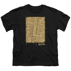 Harry Potter - Youth Marauders Map Interior T-Shirt