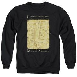 Harry Potter - Mens Marauders Map Interior Words Sweater