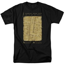 Harry Potter - Mens Marauders Map Interior Words T-Shirt
