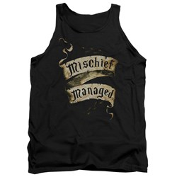Harry Potter - Mens Mischief Managed Tank Top