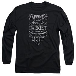Harry Potter - Mens Happiness Long Sleeve T-Shirt