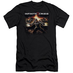 Infinite Crisis - Mens Batmen Premium Slim Fit T-Shirt