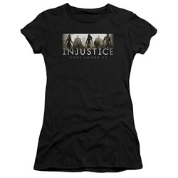 Injustice Gods Among Us - Juniors Logo Premium Bella T-Shirt